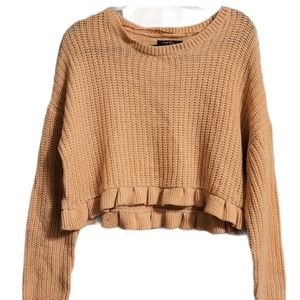 Love @ First Sight Cropped Sweater